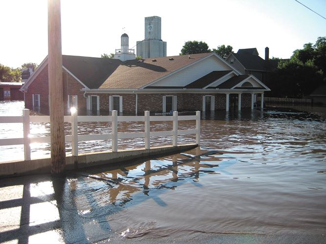 2008 Flood - Freedom Bank